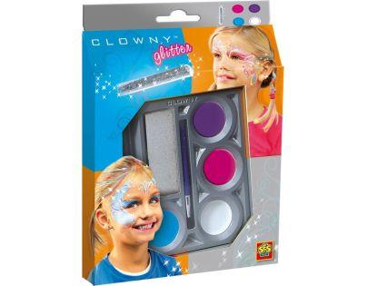 Ses Clowny aqua 4 barvy a lesk