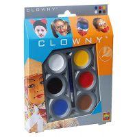 Clowny Líčící barvy aqua