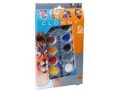 Clowny Kosmetické barvy trendy