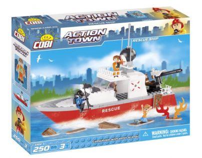 Cobi Action Town 1464 Hasičská loď