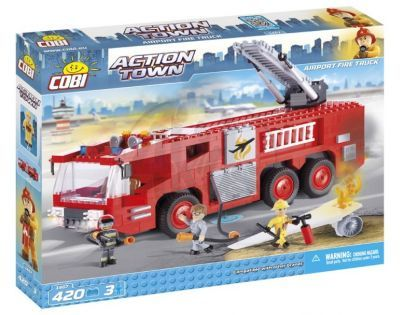 Cobi Action Town 1467 Letištní hasičské auto