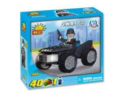 COBI 1504 - Policie - Policejní auto S.W.A.T.
