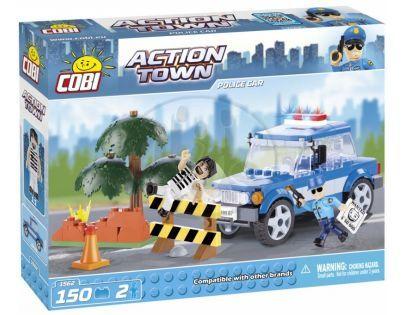 Cobi Action Town 1562 Policejní auto