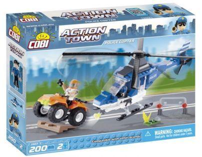 Cobi Action Town 1563 Policejní helikoptéra