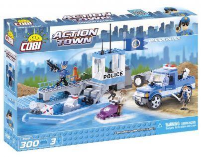 Cobi Action Town 1565 Říční policie v akci
