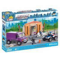 Cobi Action Town 1566 Policie Velká bankovní loupež