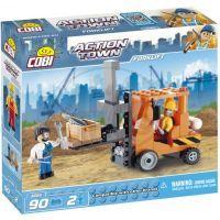 Cobi Action Town 1661 Vysokozdvižný vozík