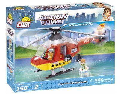 Cobi Action Town 1762 Záchranná helikoptéra