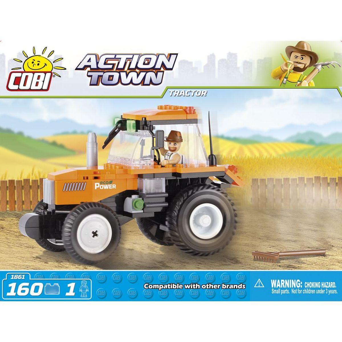 Cobi Action Town 1861 Farma traktor