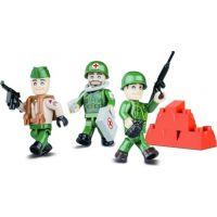 Cobi 2026 Small Army 3 figurky s doplňky Americká armáda