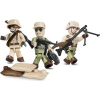 Cobi 2034 Malá armáda 3 figurky s doplňky Afrika Korps