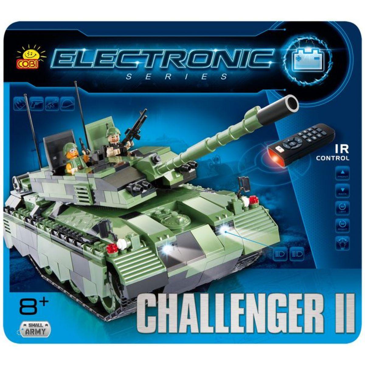 Cobi Electronic 21902 Tank Challenger II