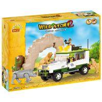 Cobi Příběh divočiny 22360 Safari off-road