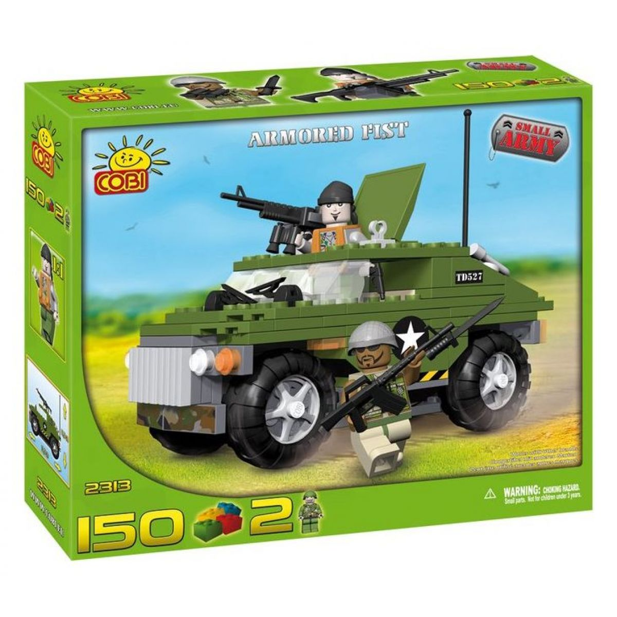 COBI 2313 - Malá armáda - Obrněné vozidlo