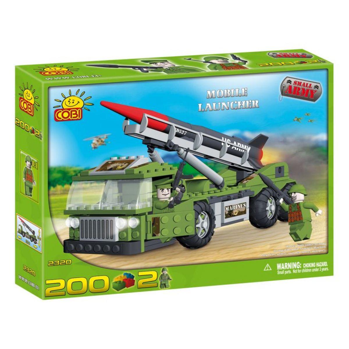 COBI 2320 - Malá armáda - Mobilní odpalovač