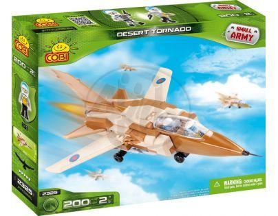 Cobi Malá armáda 2325 Letadlo Pouštní Tornado