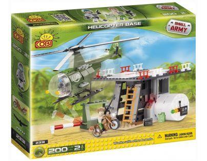 Cobi Malá armáda 2331 Základna s helikoptérou