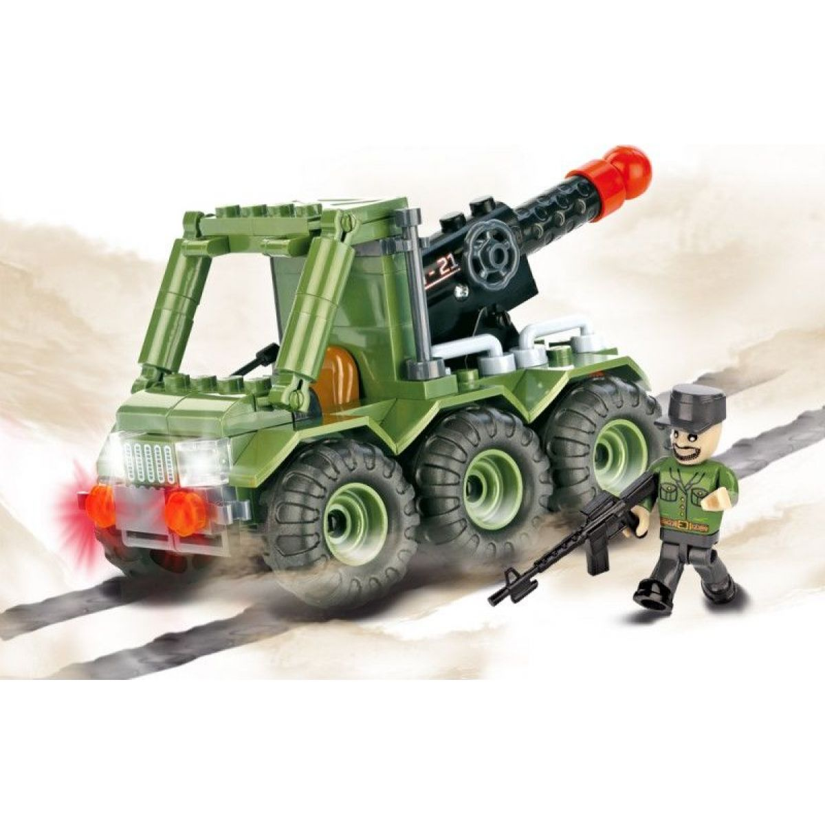 Cobi Malá armáda 2196 G21 raketomet