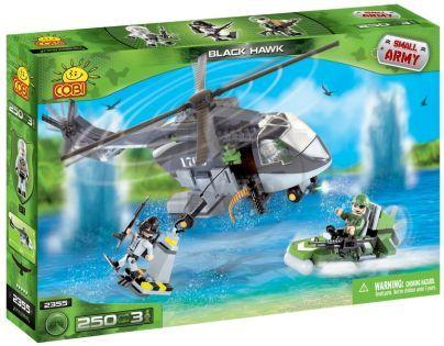 Cobi Malá armáda 2355 Vrtulník Black Shark