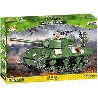 Cobi 2390 Malá armáda II. světová válka M36 Jackson Tank Nicitel