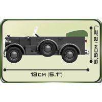 Cobi 2405 Malá armáda II. světová válka 1937 Horch 901 Kfz. 15 1:35 3