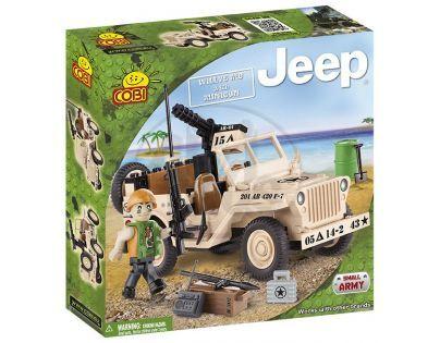 Cobi Malá armáda 24091 Jeep se samopalem