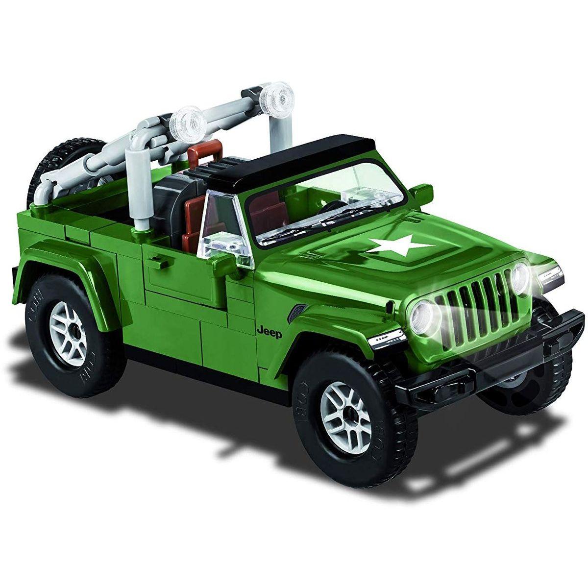 Cobi 24095 Small Army Jeep Wrangler vojenský, 1:35, 98 k