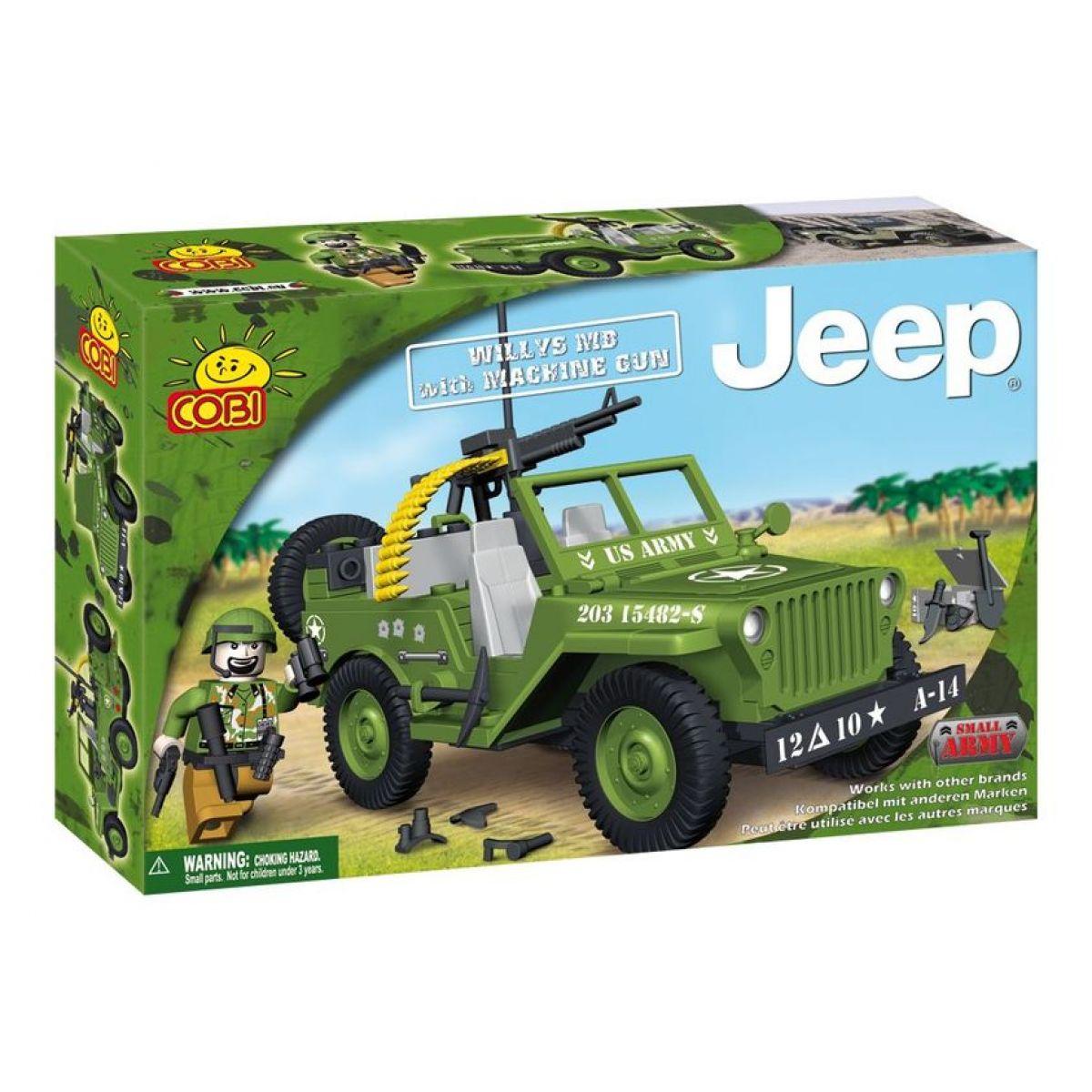 COBI 24112 - Jeep Willys - Jeep WillysMB s kulometem