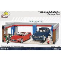 Cobi 24115 Maserati Garáž 1:35