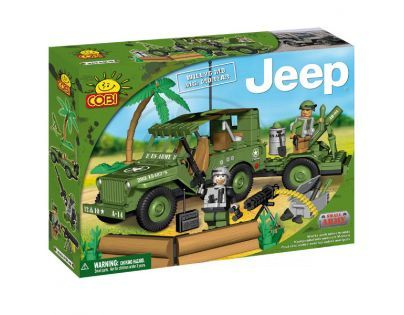 COBI 24200 - Jeep Willys - Jeep Willys s dělem