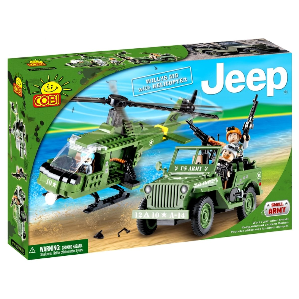 COBI 24252 - Jeep Willys - JEEP Willys MB