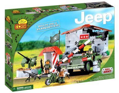 COBI 24320 - Jeep Willys - JEEP Willys MB horská základna