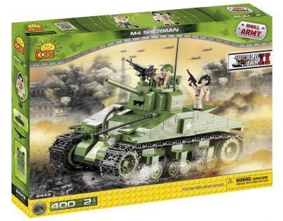 COBI 2443 - Tank Sherman (II. světová válka)