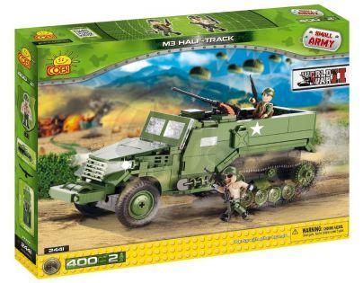 COBI 2441 - US Army M3 half-track z II. světové války