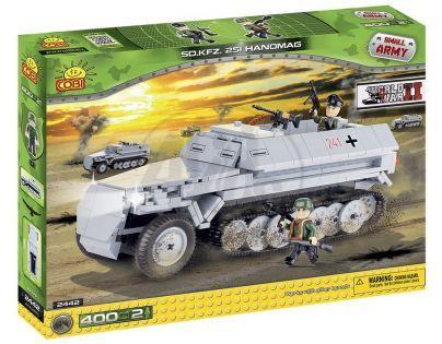 COBI 2442 - Obrněný transportér SD.KFZ. 251 Hanomag z II. svět. války