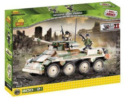 COBI 2446 - Obrněný transportér SD.KFZ. 234 PUMA z II. svět. války