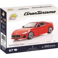 Cobi 24561 Maserati Gran Turismo 1:35 červený - Poškozený obal 2