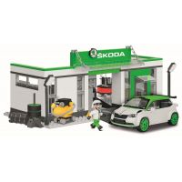 Cobi 24580 Škoda Fabia R5 Racing garáž