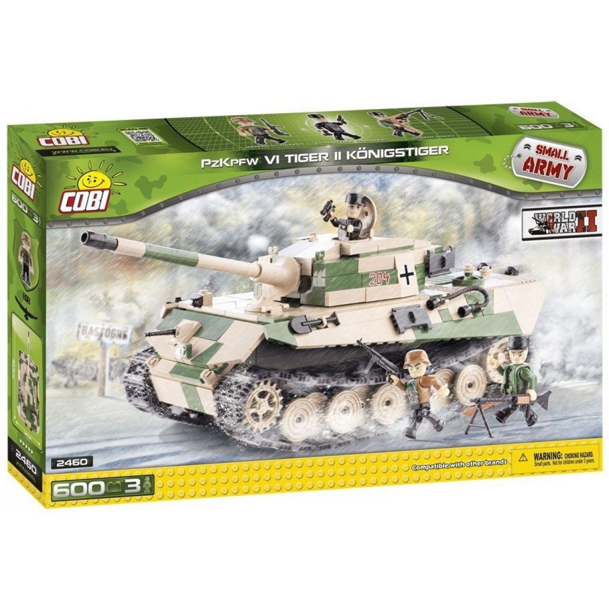 COBI 2460 - II. světová válka Tank Tiger II Königstiger