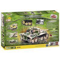 COBI 2460 - II. světová válka Tank Tiger II Königstiger 2
