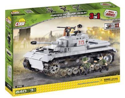 COBI 2461 - II. světová válka Tank Panzer IV ausf. F1/G/H