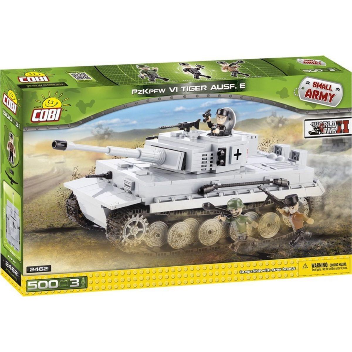 COBI 2462 - II. světová válka Tank TIGER ausf. E
