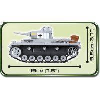 Cobi 2523 Malá armáda II. svetová vojna Panzer III Ausf E - Poškodený obal 3