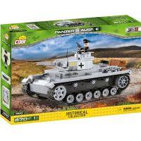 Cobi 2523 Malá armáda II. svetová vojna Panzer III Ausf E - Poškodený obal 4
