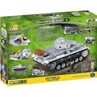 Cobi 2523 Malá armáda II. svetová vojna Panzer III Ausf E - Poškodený obal 5