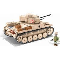 Cobi 2527 Malá armáda II. světová válka SD.KFZ.121 Panzer II Ausf. F