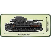 Cobi 2530 II. svetová vojna II WW 60 cm Karl-Gerät 040, 1500 k, 4 f 4