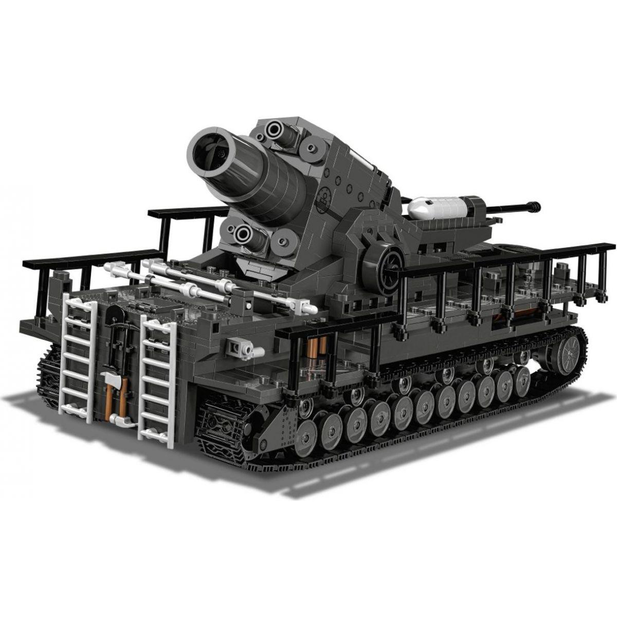 Cobi 2530 II. svetová vojna II WW 60 cm Karl-Gerät 040, 1500 k, 4 f