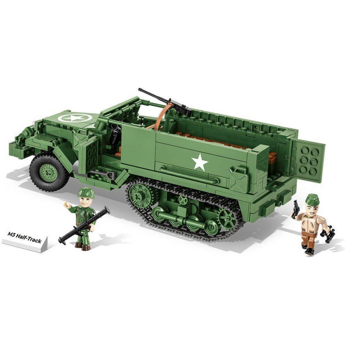 Cobi 2536 Malá armáda II. svetová vojna M3 Half-Track