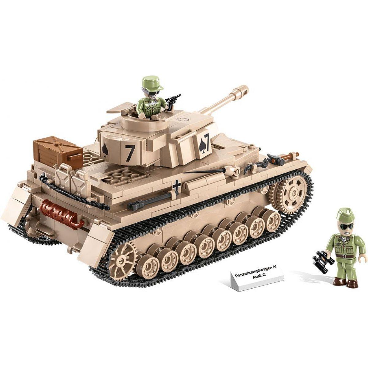 Cobi II. světová válka Panzer IV Ausf G DAK
